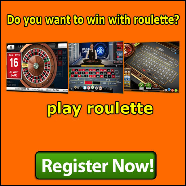 Win with Roulette at Netbet